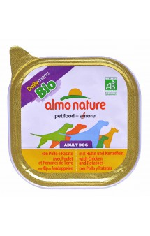 Daily Menu BIO Adult Dog with Chicken&Potatoes / Almo Nature (Италия)