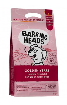 "BARKING HEADS Golden Years ""Золотые годы"", корм для пожилых собак  / Real Pet Food (Великобритания)"