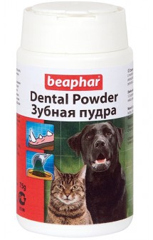 Dental Powder,зубная пудра для кошек и собак / Beaphar (Нидерланды)