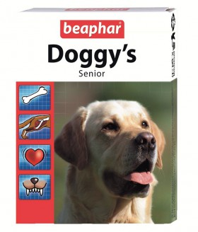 Doggy's Senior,пищевая добавка для пожилых собак / Beaphar (Нидерланды)