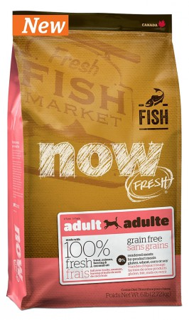 NOW FRESH™ Grain Free Fish Adult,корм для собак с рыбой / Petcurean (Канада)