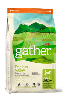 GATHER Endless Valley Vegan DF, веганкорм для собак / Petcurean(Канада)