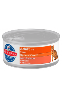 Science Plan™ Feline Adult with Salmon / Hill's (США-Нидерланды)