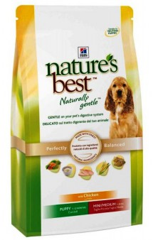 Nature's Best  Mini/Medium Puppy Chicken / Hill's (США-Нидерланды)