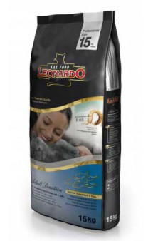 Leonardo ADULT Sensitive OCEAN FISH and RICE / Bewital Petfood (Германия)