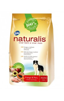 Naturalis Adult Dogs Turkey and Chicken / Naturalis (Бразилия)