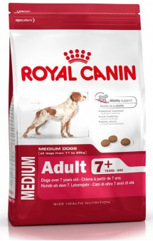MEDIUM Adult 7 + / Royal Canin (Франция)