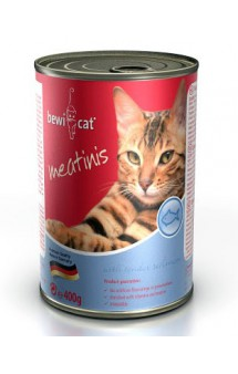 Bewi Cat Meatinis, консервы для кошек, с рыбой / Bewital Petfood (Германия)