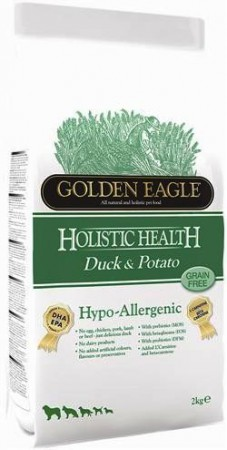 Golden Eagle Hypo-allergenic Duck and Potato 26/12,корм для собак страдающих аллергией / Golden Eagle Petfoods Co.Ltd (Великобритания)