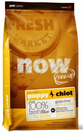 NOW FRESH Grain Free PUPPY Dog Food Recipe / Petcurean (Канада)