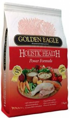 Golden Eagle Holistic POWER Formula 30/20,корм для очень активных собак / Golden Eagle Petfoods Co.Ltd (Великобритания)