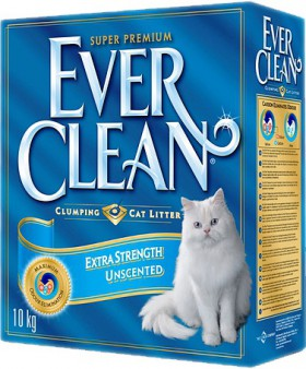 Extra Strenght Unscented, Голубая полоса / EVER CLEAN (США)