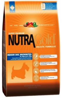 NUTRA GOLD Indoor Dog Mikrobites / Diamond Pet Foods,Inc. (США)