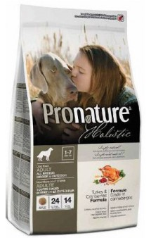 Pronature Holistic Turkey and Cranberries / Pronature (Канада)