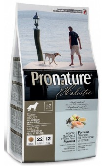Pronature Holistic Atlantic Salmon and Brown Rice / Pronature (Канада)