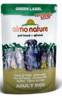 Green Label Natural Soup Dog Chicken Fillet / Almo Nature (Италия)