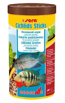 Cichlids Sticks, палочки для цихлид / SERA (Германия)