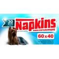 Napkins Впитывающие пеленки для собак 60х40 / Napkins (Россия)