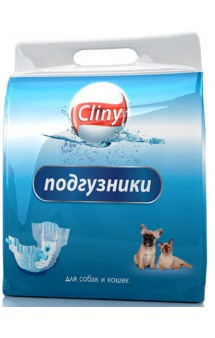 Подгузники для кошек и собак / Cliny (Россия)