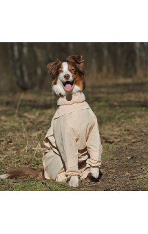 Комбинезоны с ловушками от клещей для собак, девочки / OSSO Fashion (Россия)