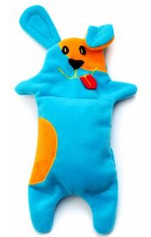 Игрушка для собак из флиса «Песик» с неубиваемой пищалкой / OSSO Fashion (Россия)