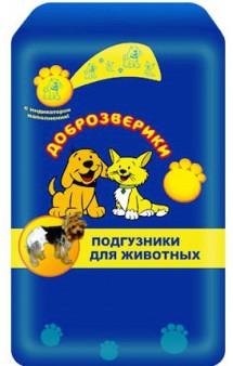 Подгузники для животных / Доброзверики (Россия)