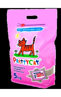 Наполнитель комкующийся для кошачьих туалетов EURO MIX / PrettyCat (Россия)