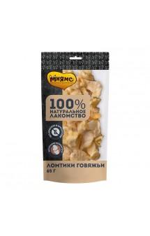 Ломтики говяжьи, лакомство для собак / Мнямс (Россия)