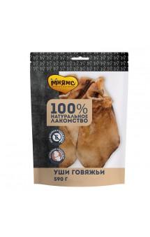 Уши говяжьи, лакомство для собак / Мнямс (Россия)