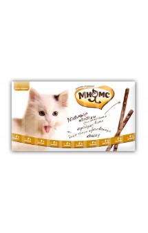 Лакомые палочки для кошек с Цыпленком и Уткой / Мнямс (Австрия)