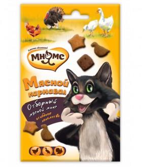 Мясной Карнавал для кошек, Утка, Курица, Индейка / Мнямс (Австрия)
