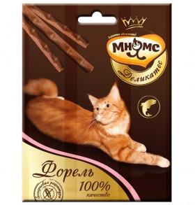 Лакомые палочки с Форелью, деликатес для кошек / Мнямс (Австрия)