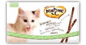 Лакомые палочки для кошек с Уткой и Кроликом / Мнямс (Австрия)