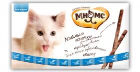 Лакомые палочки для кошек с Лососем и Форелью / Мнямс (Австрия)