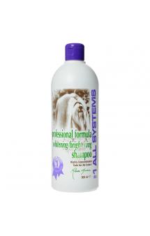 Whitening shampoo, отбеливающий шампунь для собак и кошек / #1 ALL SYSTEMS (США)
