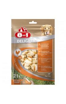 Жевательные косточки для мелких собак, 7,5 см, 21 шт / 8in1 (Германия)