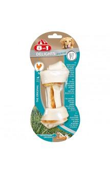 Косточка с Курицей и минералами Dental Delights М, 14,5 см / 8in1 (Германия)