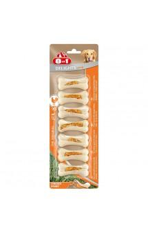 Сверхпрочные косточки Delights Bone Strong XS, 7,5 см; 7шт / 8in1 (Германия)