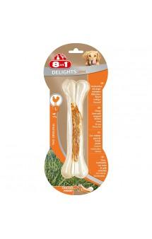 Сверхпрочная косточка Delights Bone Strong L, 21 см / 8in1 (Германия)