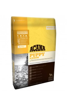 ACANA Heritage PUPPY and JUNIOR, корм для щенков и юниоров / Champion Petfoods (Канада)