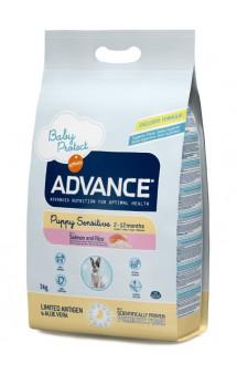 Puppy Sensitive, корм для щенков с чувствительным пищеварением / Advance (Испания)