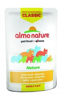 Classic Nature Chicken Fillet,Куриное филе, паучи для кошек / Almo Nature (Италия)