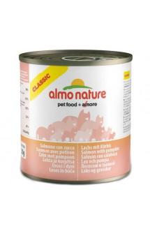 Classic Adult Cat Salmon&Pumpkin, консервы для кошек с лососем и тыквой / Almo Nature (Италия)