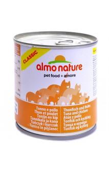 Classic Adult Cat Chicken and Tuna, консервы для кошек с Курицей и Тунцом / Almo Nature (Италия)