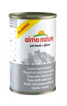 Classic Adult Cat Tuna&White bait, консервы для кошек с Тунцом и Сардинками / Almo Nature (Италия)