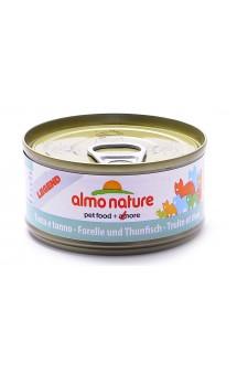 Legend Adult Cat Trout&Tuna, консервы для кошек Форель и Тунец / Almo Nature (Италия)