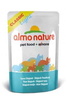 Classic Light Skip Jack Tuna, паучи для кастрированных котов Полосатый Тунец / Almo Nature (Италия)