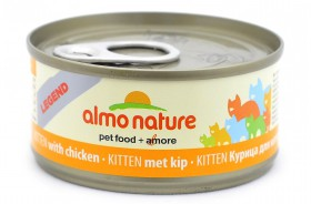 Legend Kitten Chicken, консервы для котят / Almo Nature (Италия)