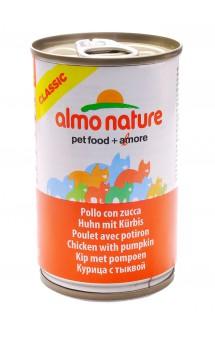 Classic Adult Cat Chicken&Pumpkin, консервы для кошек с Курицей и тыквой / Almo Nature (Италия)