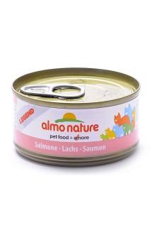 Legend Adult Cat Salmon,консервы для кошек с Лососем / Almo Nature (Италия)